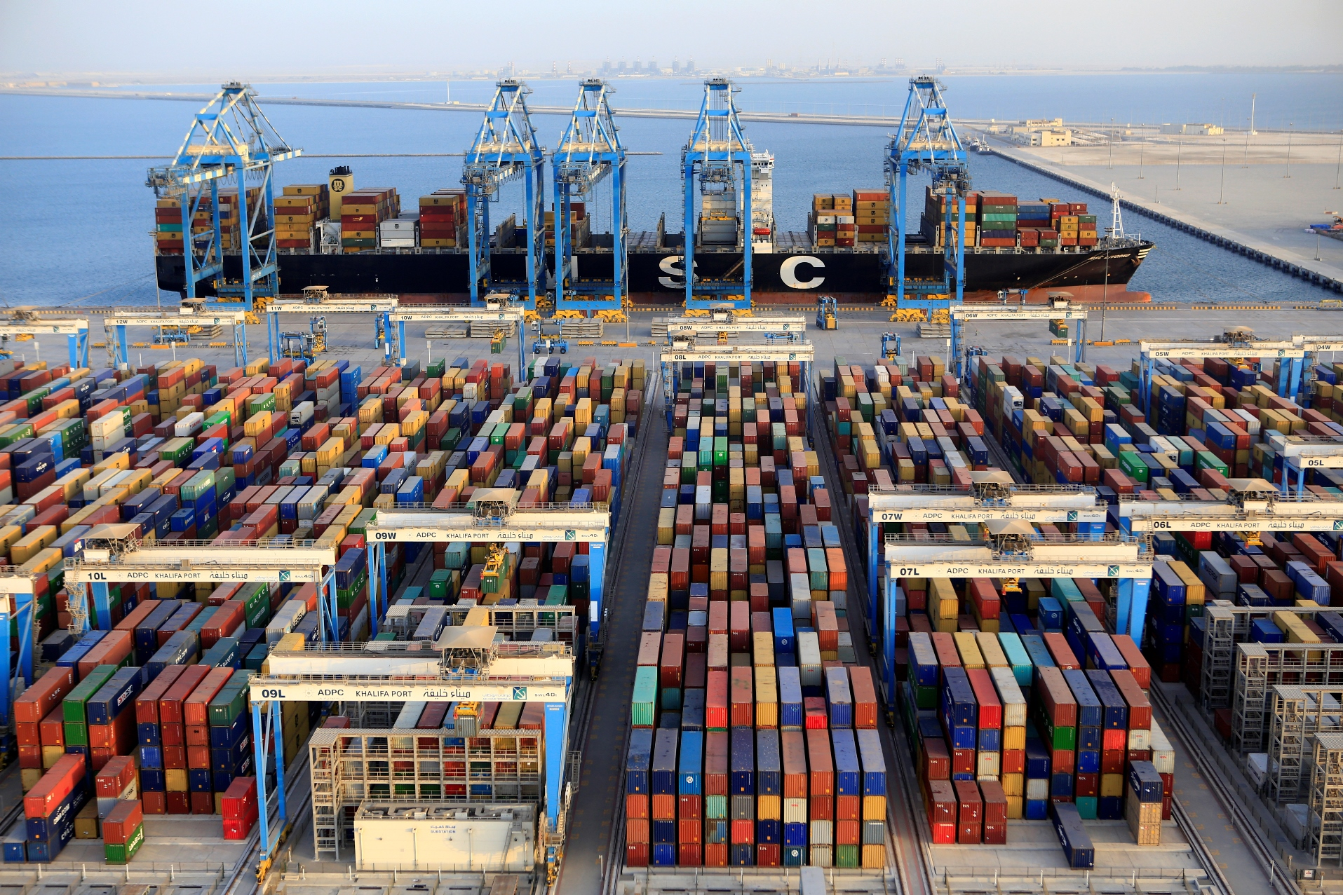 Abu Dhabi Terminals achieves ISO 28001:2007 Certification