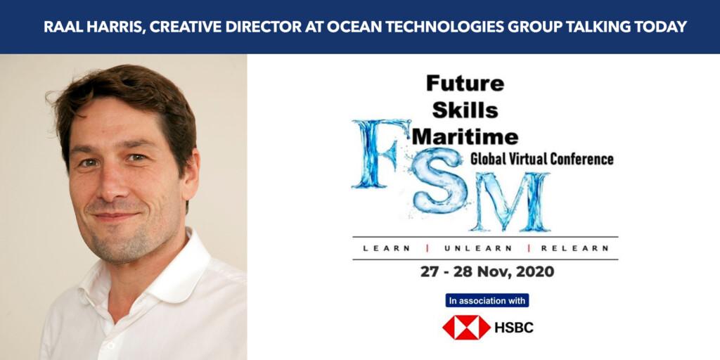 Raal Harris speaking at Future Skills Maritime – Register Now!